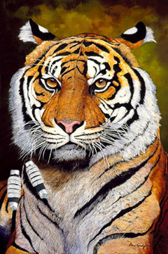 The Sultan-Sumatran Tiger